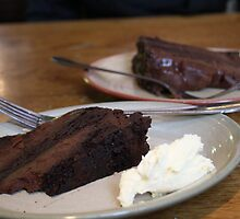 Chocolate Fudge Cake by tillia58