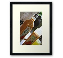 Add a Little Spice Framed Print