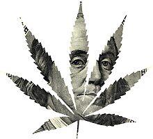 100 Dollar Pot Leaf by mstark