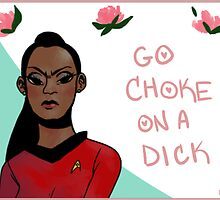 Uhura- Feminist Sticker by Chelsea Jones