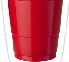 Red Solo Cup - Proceed to Party!!! Sticker