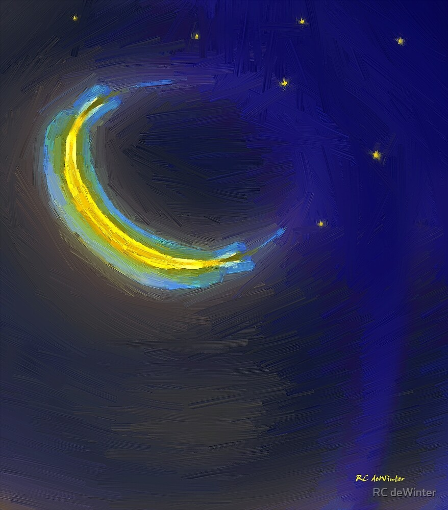 Seven Stars and the Moon by RC deWinter