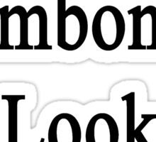 Excellent Trombonists Look Like Me Sticker
