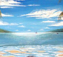 Long Island Paradise, Australia  Sticker