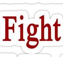 Cameroonians Fight Until We Die Sticker