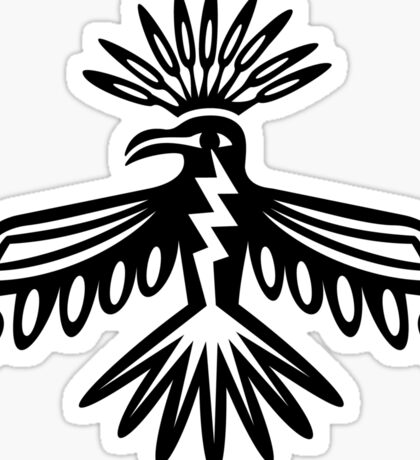 Thunderbird - Native Americans - Power, Protection & Strength Sticker