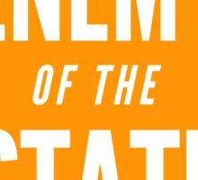Enemy of the State (Orange) Sticker