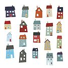 Little Houses by nic squirrell