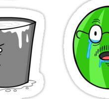 Bagel and Friends Sticker