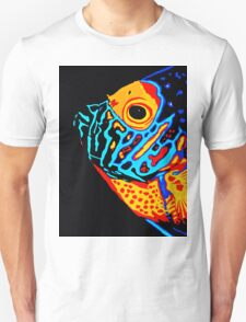 Angel Fish Swimming in the Deep T-Shirt
