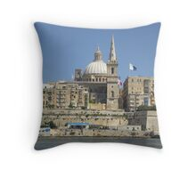 CAPITAL ON THE WATER Throw Pillow