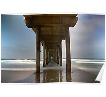 The Beauty Of Scripps Pier Poster