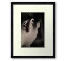 """Youth"" Framed Print"