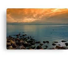 Morning Orient Point Canvas Print