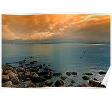Morning Orient Point Poster