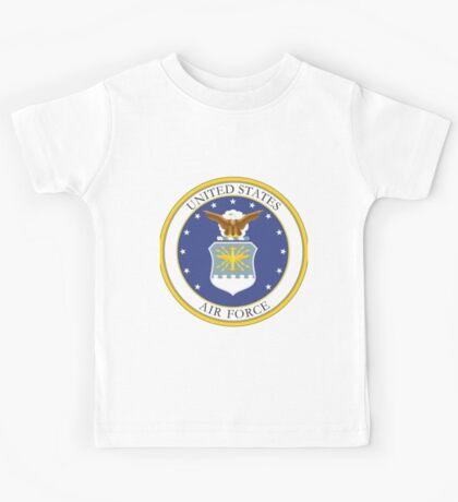 USAF Coat of Arms Kids Tee
