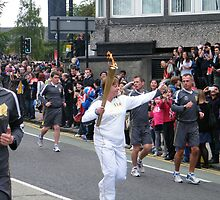 Olympic Flame, University Ave, Glasgow by ElsT