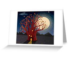 Bunyip Tree Greeting Card
