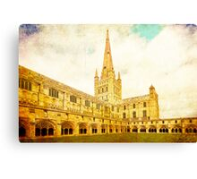 Norwich Cathedral Canvas Print
