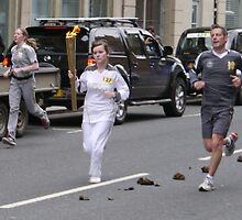 Olympic Flame, Ingram St., 2 by ElsT