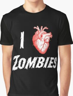 I Heart Zombies Graphic T-Shirt
