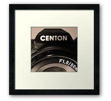 Centon Framed Print