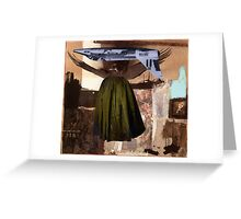 Pop Goes the Easel. Greeting Card