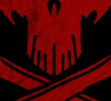 Under A Black Flag  - Red Sky - The Sticker Sticker