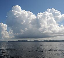 Clouds Over the Andaman Sea by Vivian Christopher