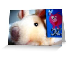 Save my Bacon Greeting Card