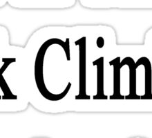 I'm The Rock Climbing Instructor  Sticker