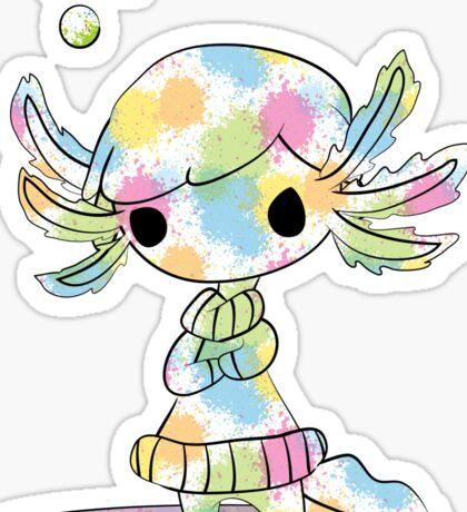 Rainbow Lotl Sticker