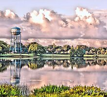 Crescent Lake (HDR) by Jeff Ore