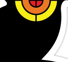 Chipmunk Target Sticker