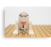 Star wars action figure R2D2 robot Canvas Print