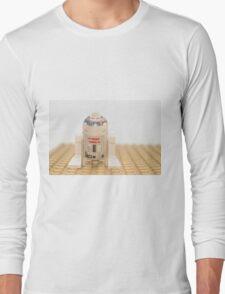 Star wars action figure R2D2 robot Long Sleeve T-Shirt