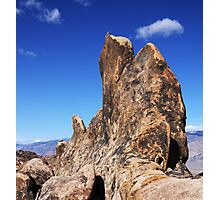 Alabama Hills Rock Formation Photographic Print