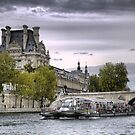 On the River Seine (9) by Larry Lingard-Davis