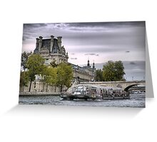 On the River Seine (9) Greeting Card