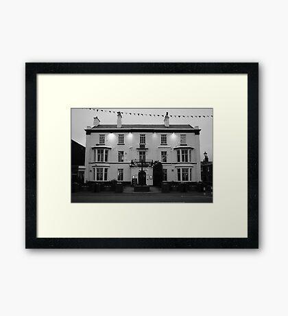 'Queens Hotel' Lytham Framed Print