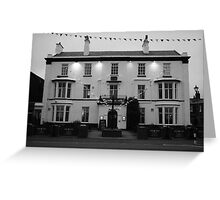'Queens Hotel' Lytham Greeting Card