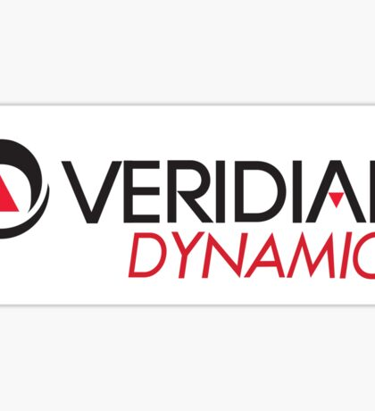 Veridian Dynamics Logo Sticker Sticker