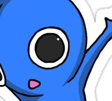 Blue Jumping Pikmin Sticker