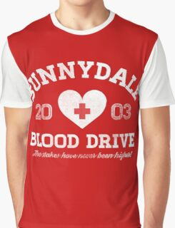 Sunnydale Blood Drive Graphic T-Shirt