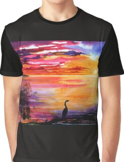 Colours of Sunset   Graphic T-Shirt
