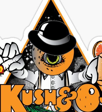 Kush & Oj Sticker