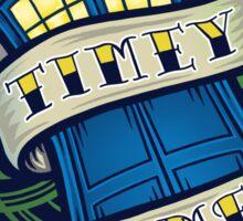 Timey Wimey - Sticker Sticker