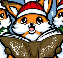 What does the Fox Sing? - Sticker Sticker