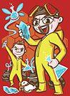 Legend of Heisenberg - Sticker by TrulyEpic