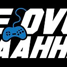 Game Over Yeah! (STICKER) by mikehandyart